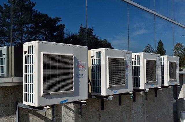 aire acondicionado por fuera