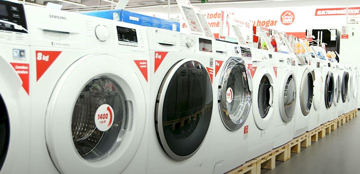 diferentes lavavadoras